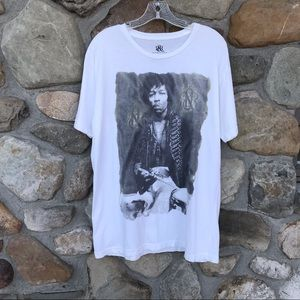 Jimi Hendrix rock & republic size L T-shirt